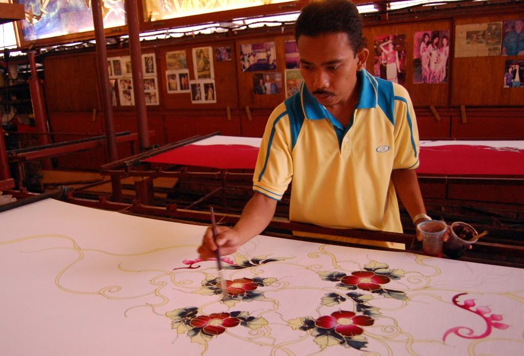Batik-Making Class in Malacca