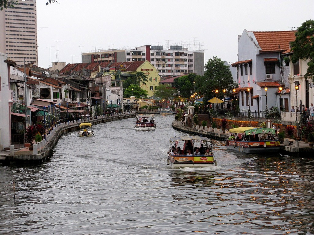 Cruise on the Malacca River