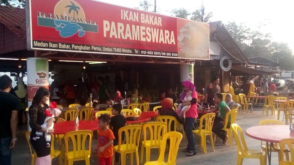 Ikan Bakar Parameswara in Malacca
